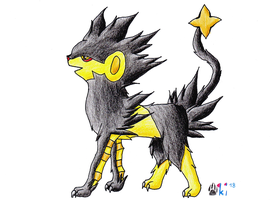 AT - Luxray for LugiaUmbreonPower by Okiro13