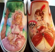 SHOES: Victorian Girls by yurchan
