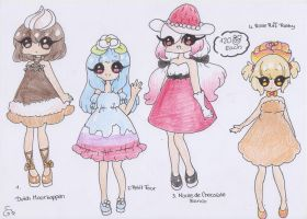 Dessert Adopts CLOSED by ShiToHoshisaki