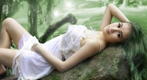 Fairy in the forest 02 by duyphong2507