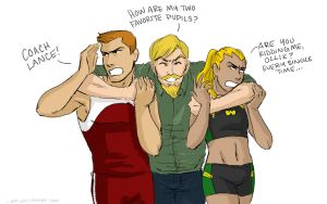 Arrow Family by queensarwa