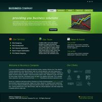 Business Company PSD Template by rjoshicool
