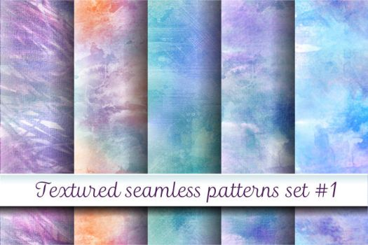 Textured patterns 1 by Hardia-999