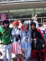 RWBY group cosplay by good-flippy