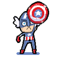 Pixelated America by elvereth