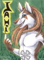 Jahi badge by shinigamigirl