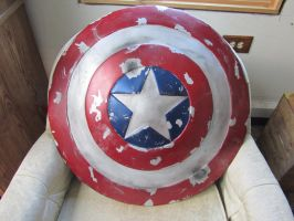 Captain America Shield- Finished by JimmyDaMoose