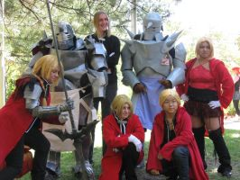 Elric brothers FMA photoshoot at NDK 2012 by Leap207