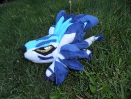 Chibi Garurumon custom plush by Kitamon