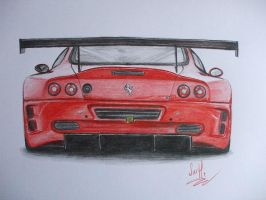 ferrari sketch by SusHi182