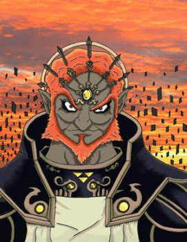 Ganondorf Colored by The-Knights-of-Wii
