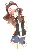 Pokemon white render 1 by IdolPrincess
