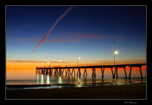 Just by the pier by monteycarlos