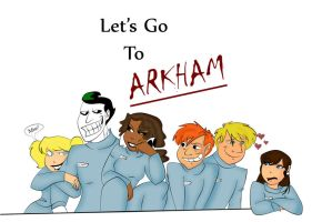 Let's go to Arkham by crazysweety