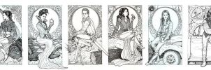OUAT: Once Upon a Time (The Entire Mural ) by danielfoez