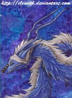 ACEO: across the galaxy by Eleweth
