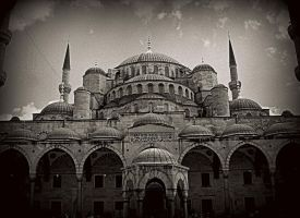 Sultan Ahmed Mosque,Istanbul by The--Dark--Knight