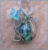 Fairytale IV Wire Wrap Pendant by balthasarcraft