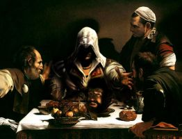 Ezio's offering by kcgallery