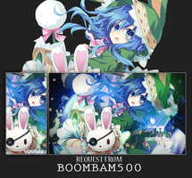 Tagwall Yoshino request from Boombam500 by SKittlesART