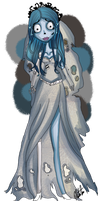 Corpse Bride by Mitz-Abi