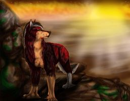 Cliffside View by Wolven-Sister