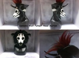 Demonic Wolf NOW SELLING FOR $200 OBO by DragonGames