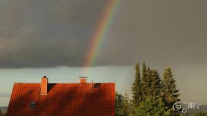 Is there a pot of gold in the chimney? by MrTheEB