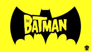 2004 THE Batman Cartoon Title Logo by HappyBirthdayRoboto