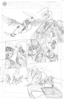 Ouroboros is 1 pg 9 pencil by neilak20