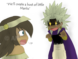 YGO: The Madness of Yami Marik by The-PirateQueen