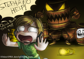 Pewdie: BARRELS by DarkLitria