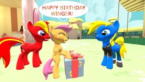 Happy Birthday to TBWinger 92 by mRcracer