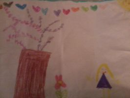 my little cousin: a budding star by Bohax