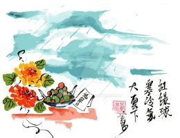 Mother's day no Haiga by goldenhan