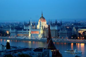 Parliament at Dusk by Phate1596