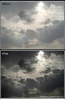 Cairo's Clouds Retouching by MahdyDesigns