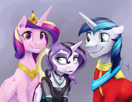 Patreon: Family Photo by SilFoe