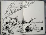 #198 Tom and Jerry by 365-DaysOfDoodles