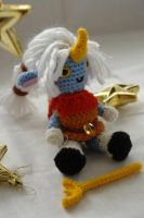 League of legends: crochet amigurumi Soraka by tinyAlchemy