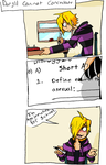 Daryll Can't Concentrate by Skeletonny