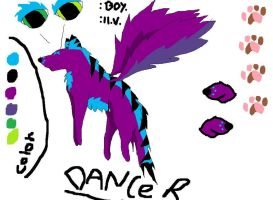 NEW! Dancer ref! by Kihomi-doglover