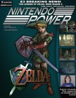 Finished Nintendo Power Cover by linkdragon