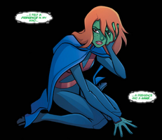 Young Justice 19 panel by LucianoVecchio