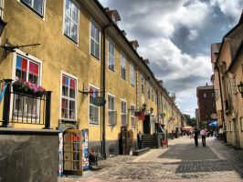 Riga-Old city 2 by IronCrusader