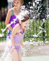 Client's child have fun at splash park #2 by JustMyluck3229