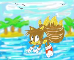 little Tails miles prower by tails1