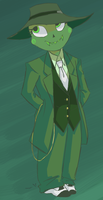 Zoot Suit Calliope by azureM00nlight
