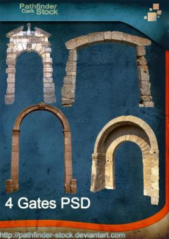 4 Gates PSD Pack by Pathfinder-Stock