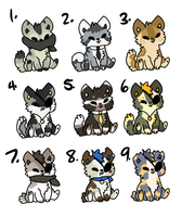Chibi adopts -CLOSED- Offer by MiniTheFox